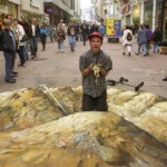 Unique 3D street art by English freelance artist Julian Beever