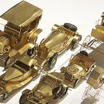Beautiful miniature models of cars by Polish artist and craftsman Szymon Klimek