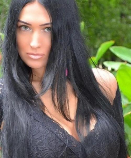 beautiful woman Vlada Evstifeeva