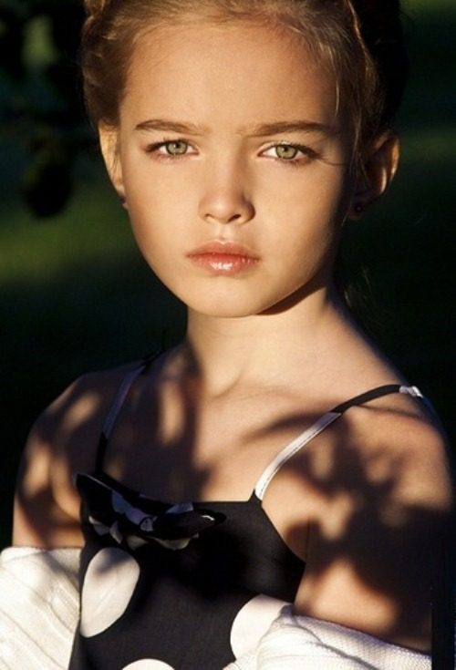 Anastasia Bezrukova 8 year-old model