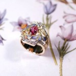 "Beautiful collection ""In the jewelry Garden"" by Japanese master Kunio Nakajima"