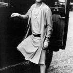 """French fashion designer Gabrielle """"Coco"""" Bonheur Chanel"""