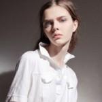 Fashion model with amazingly beautiful eyes, Masha Tyelna