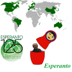 Conquering world Esperanto