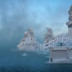 Winter landscape. The Great Vasyugan Mire