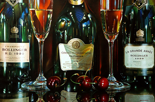 Hyperrealistic paintings by Alexander Sheversky