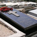 Tomb of Faberge in Cannes, on the Grand Jas Cemetery