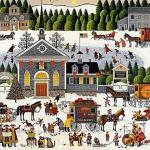 Churchyard Christmas