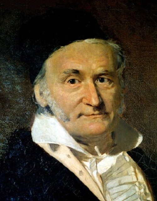 Great mathematicians. Johann Carl Friedrich Gauss, German mathematician and physical scientist