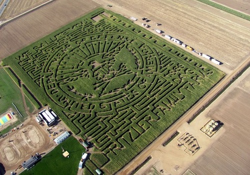 The United States labyrinth
