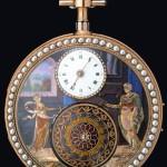 'La Cueillette des Cerises' chiming watch, 1800