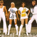 White outfits, ABBA