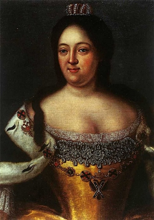 The Empress Anna Ioannovna saw her double before her death, Anna died at the age of 47.