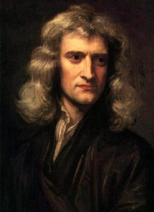 Great mathematicians. English physicist, mathematician, astronomer Isaac Newton