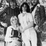 Black and white photo, ABBA