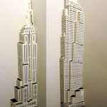 Skyscrapers of paper