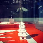 White temple. Architectures de papier exhibition