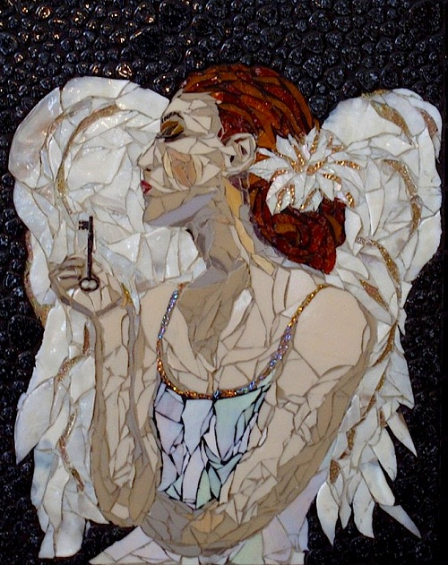 Beautiful mosaic by Laura Harris