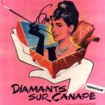 """Diamants sur Canape. 1961 """"Breakfast at Tiffany's"""""""