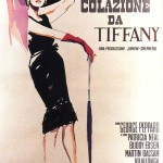"""Italian poster 1961 """"Breakfast at Tiffany's"""""""