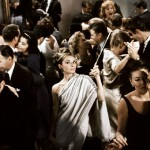 "In a crowd. 1961 ""Breakfast at Tiffany's"""