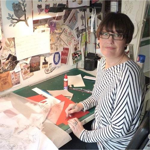Talented British paper artist Helen Musselwhite