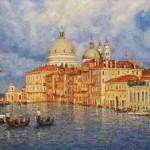 After rain. Venice. 2011. Oil on canvas