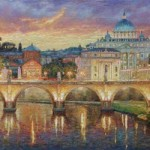 Vatican in the evening