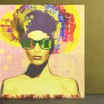 Sunglasses. Creative art by German artist NuKuZu