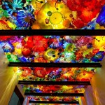 One-of-a-kind Glass installation by Dale Chihuly