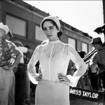 Elizabeth Taylor in the trailer for the film 'Giant' (1956)