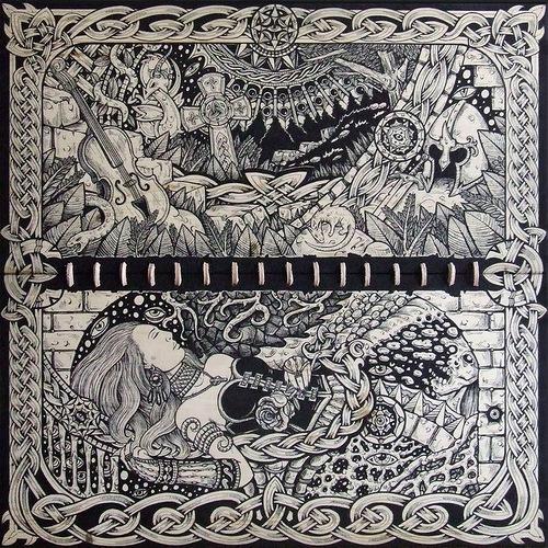 Psychedelic drawings by Darek Zawiazalec