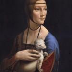 "Copy of ""The Lady with an Ermine"" by Leonardo da Vinci. Painting by Bulgarian artist Boyko Kolev"