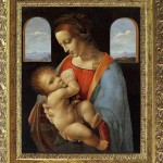 "Copy of ""The Madonna Litta"" by Leonardo da Vinci. Painting by Bulgarian artist Boyko Kolev"