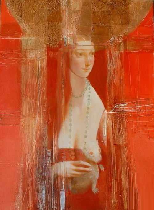 Leonardo da Vinci. Interpretation of classics by Ukrainian artist Alexander Pavlovets