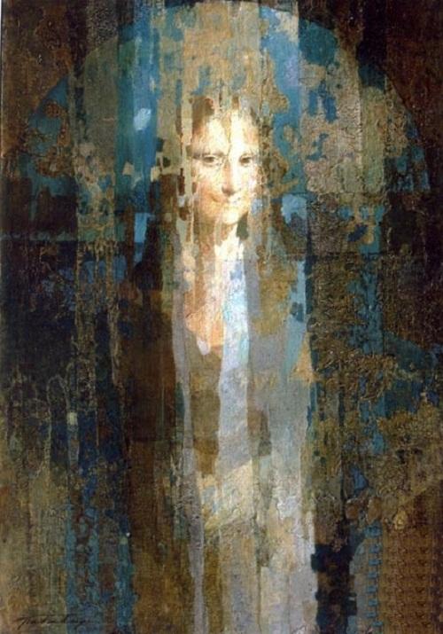 Mona Lisa. Interpretation of classics by Ukrainian artist Alexander Pavlovets