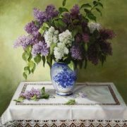 Lilac. 2013. Oil on canvas