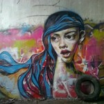Wall mural. MOST Moscow Street Art Festival