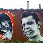 Graffiti art. MOST Moscow Street Art Festival
