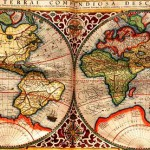Map of 1587