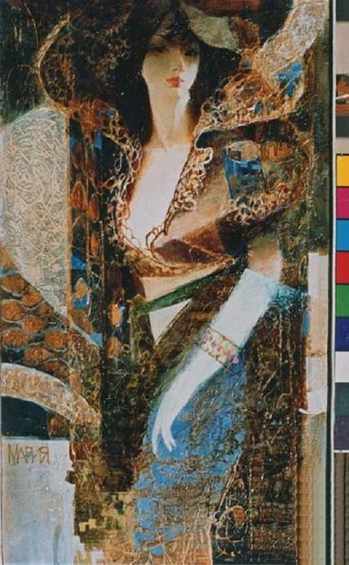 Maria. Interpretation of classics by Ukrainian artist Alexander Pavlovets