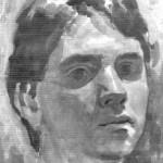 Self-portrait. Moldavian artist Robert Andersen