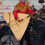 New York based balalaika contrabass player Leonid Bruk