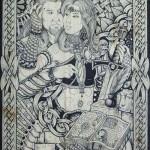 Polish artist Darek Zawiazalec