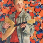 Nikolay Bogdanov-Belsky Balalaika Player