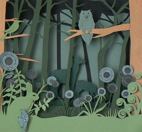 Paper Owl Town by Helen Musselwhite