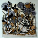 Fabulous paper forest by British artist Helen Musselwhite