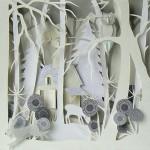 Owl Town by British artist Helen Musselwhite