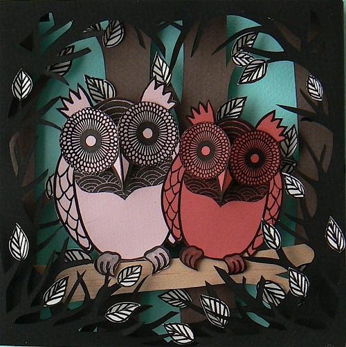 A couple ow owls
