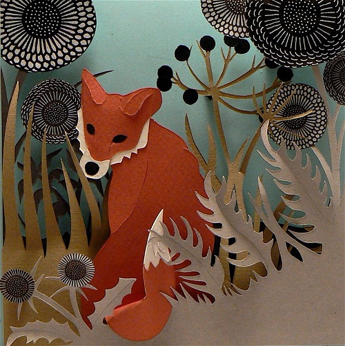 Paper art by Jo Lynn Alcorn